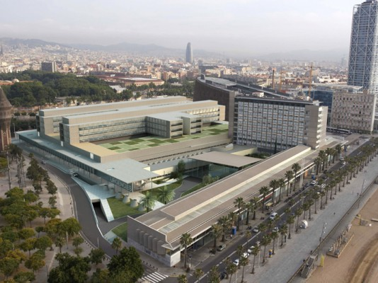 INTEGRACIÓN DE DATOS BIM-IOT EN HOSPITAL DEL MAR
