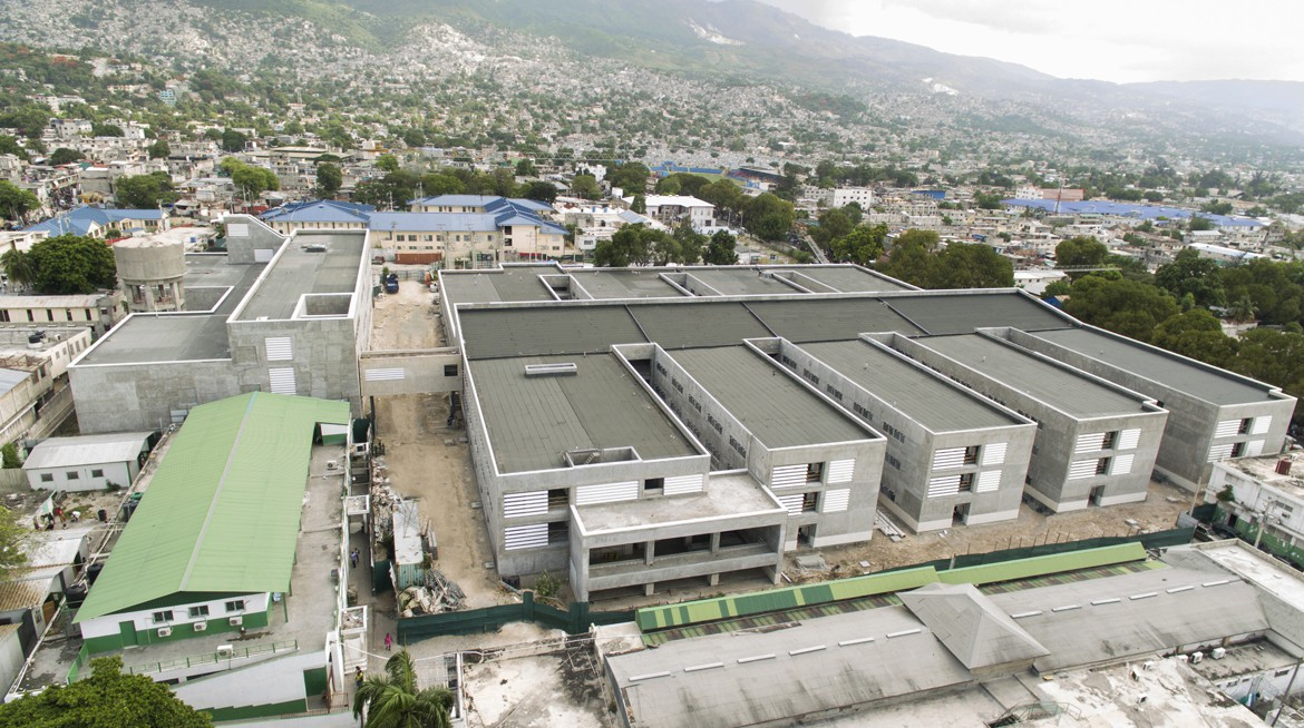 HOSPITAL UNIVERSITARI DE L'ESTAT D'HAITI