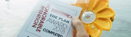 MENCIÓN DE HONOR DEL PREMIO THE PLAN 2018