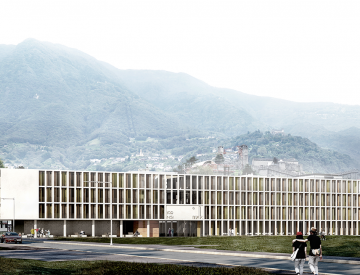 NEW HEADQUARTERS FOR THE ISTITUTO DI RICERCA IN BIOMEDICINA