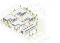 FIRST PRIZE TO DESIGN A NURSING HOME IN BRESSANONE