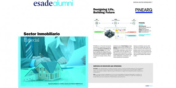 PINEARQ PUBLISHED IN ESADE ALUMNI MAGAZINE
