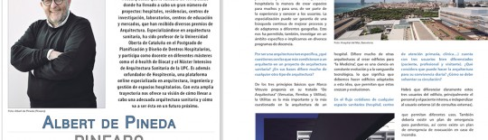 INTERVIEW TO ALBERT DE PINEDA IN PROMATERIALES MAGAZINE