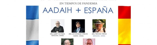ALBERT DE PINEDA PARTICIPATES IN THE AADAIH + SPAIN VIRTUAL EXCHANGE